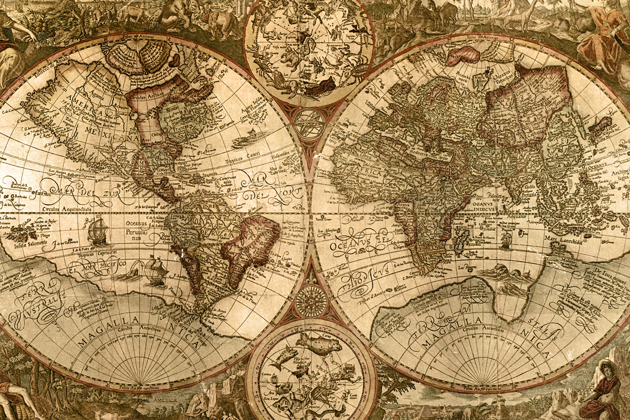 A new american foreign policy part two social matter old world map gumiabroncs Image collections