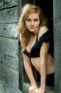 Emma Watson is concerningly concerned about female objectification which is obviously icky.