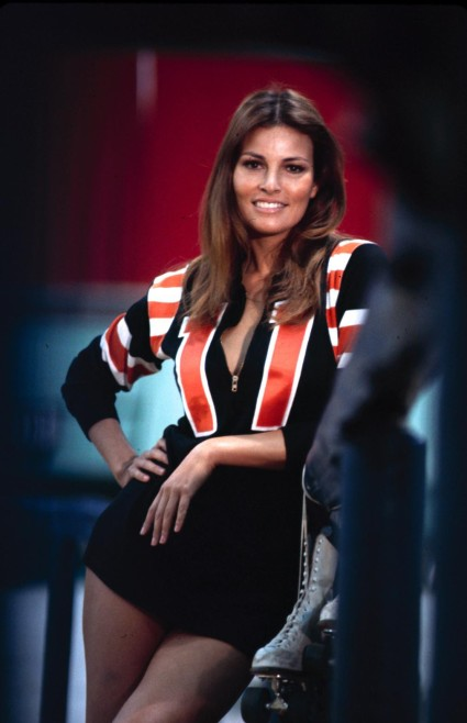Gratuitous pic of Raquel Welch in Kansas City Bomber (1972).