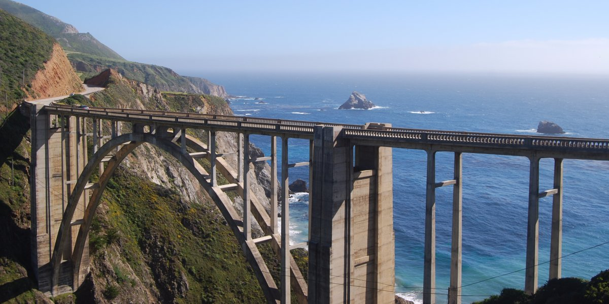 Bixby Creek Bridge, US Rt 1, Monterey CA