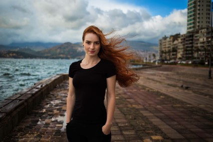 Pic of Redheaded Girl in Turkey.