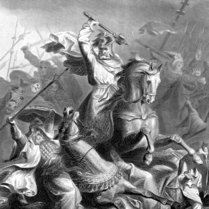 Charles Martel, at Tours