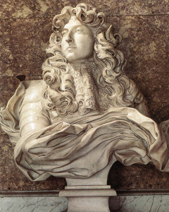 Bust of Louis XIV Of France (probably more handsome than he actually was)