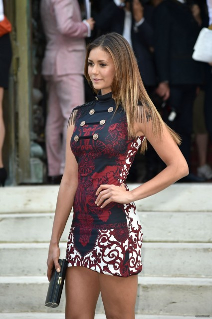 Whether there is a limit to the number of gratuitous Nina Dobrev pics one can post remains an unanswered question.