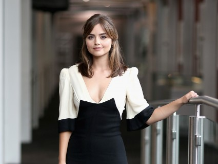 Preternaturally pleasant Jenna Coleman