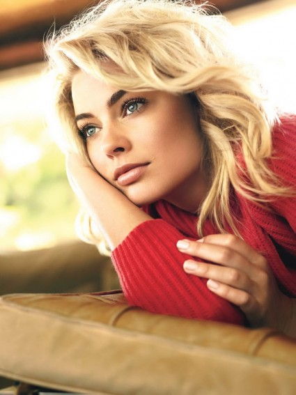 Australian actress Margot Robbie is exceedingly not hard on the eyes.