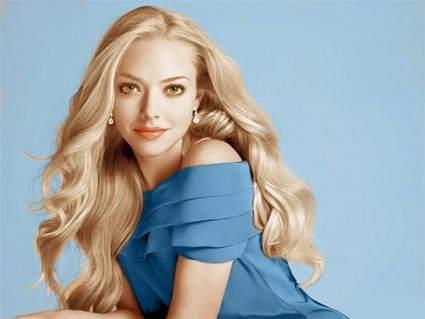 A rather heavily retouched pic of Amanda Seyfried, who is apparently not Jewish.