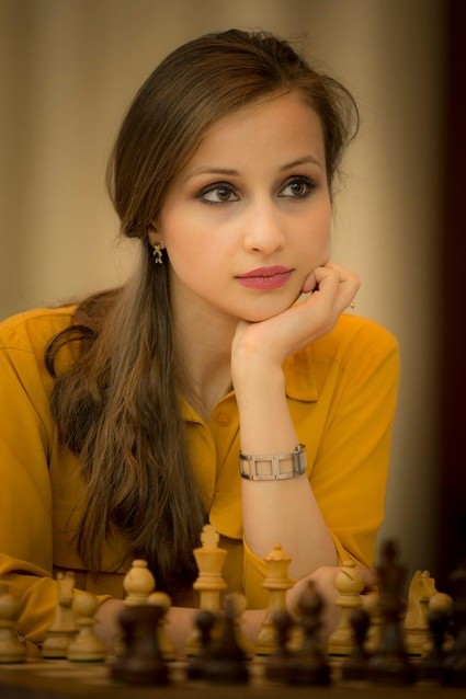 Georgian chess player Sopiko Guramishvili