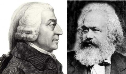 karl-marx-adam-smith