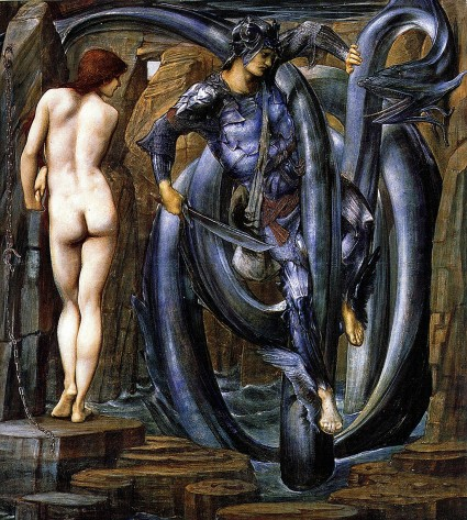 "Edward Burne-Jones: ""The Doom Fulfilled"", 1888 (Perseus Cycle 7)."