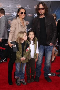 Chris Cornell and family c. 2012.