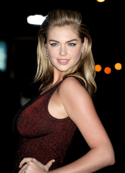 Kate Upton, who's apparently famous for something.