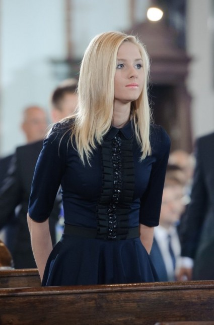 Polish First Daughter, Kinga Duda, who does not have 8 million selfies on the internet. (Or even 8 AFAICT.)