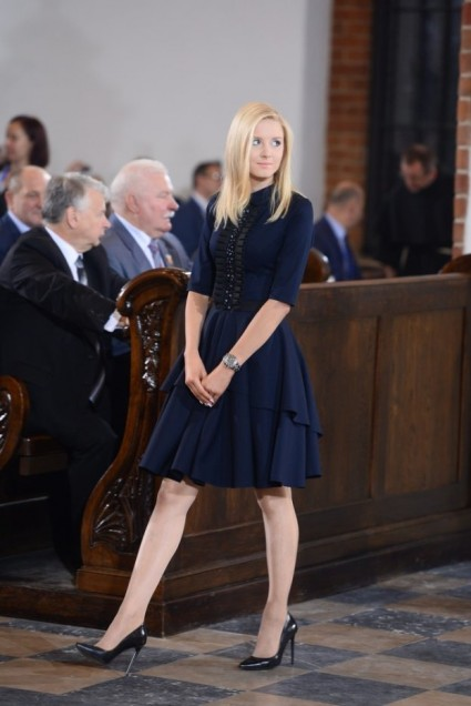 Lovely Kinga Duda, first daughter of Poland.