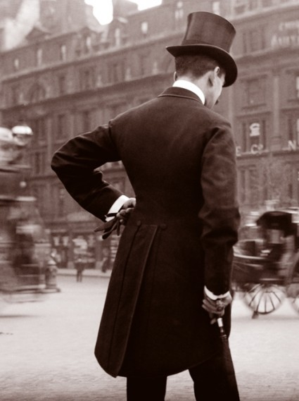 Dappery guy in London c. 1904.