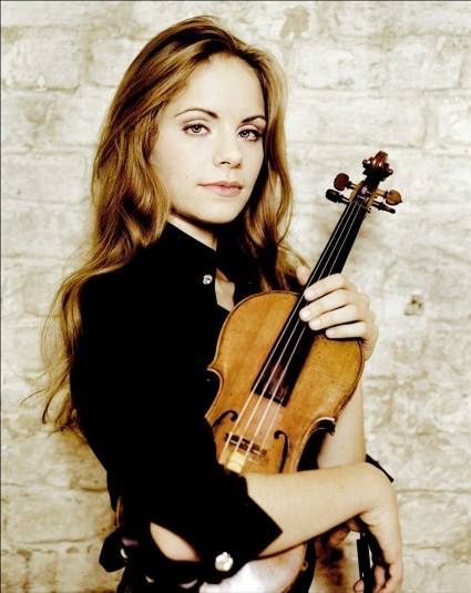 German violinist Julia Fischer