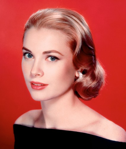 Grace Kelly, American Film Actress and Princess of Monaco